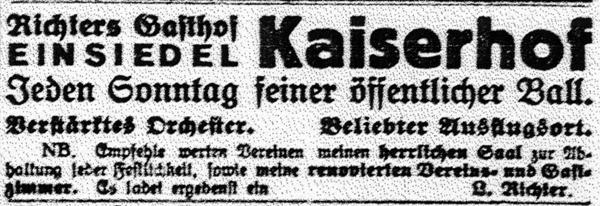 Chemnitzer Tageblatt 25.7.1925 Einsiedel gag 600
