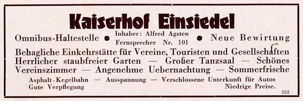 eh3 1928 aus -Erzgebirgsverkehr- eine Art Fremdenverkehrsbroschüre gag 600