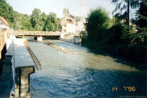 14. Juli 1996. Ansicht von unterstrom. (Foto: Inge Wolf)
