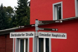 Berbisdorfer Straße Ecke Einsiedler Hauptstraße