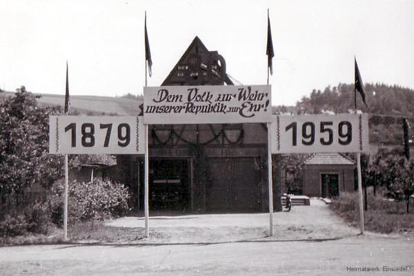 80 Jahre Feuerwehr Einsiedel