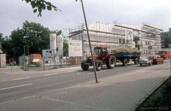Neubau Feuerwehrgebäude Einsiedel