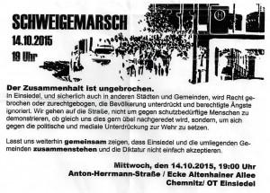 Aufruf zur Demo am 14.10.15