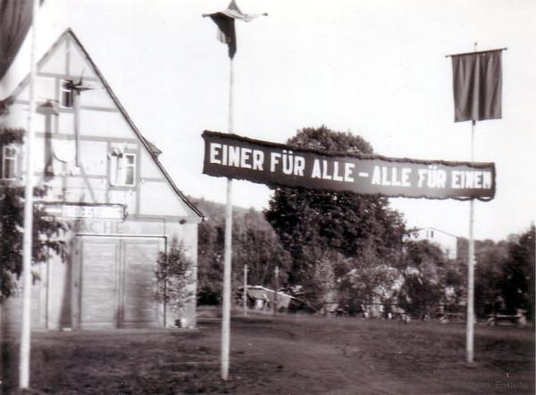 Feuerwache Einsiedel in der Hauptstr. 95