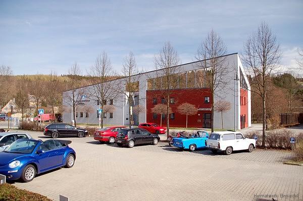 Feuerwehrgebäude FFW Einsiedel am 3. April 2011
