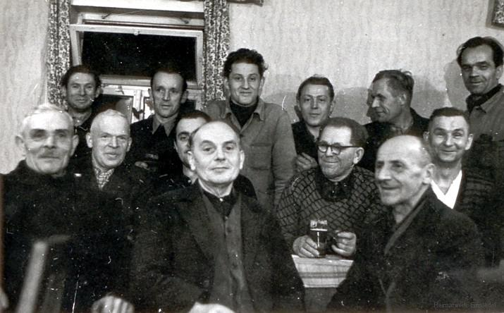 Sportlerheim Feier Winter 1959
