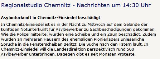 MDR Regionalstudio Chemnitz