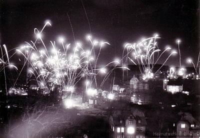 Silvester in Einsiedel Ende der 1970er Jahre