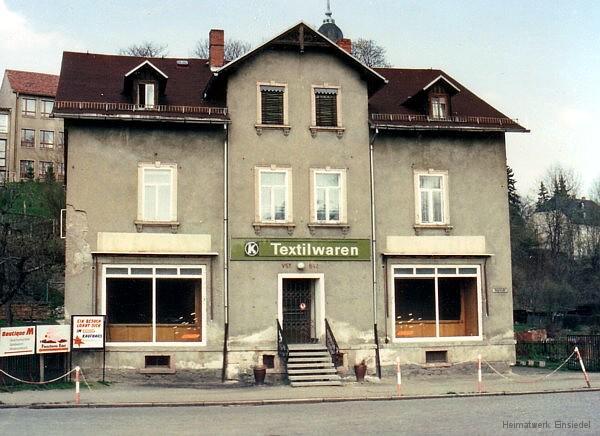 Hauptstraße 82 im April 1991