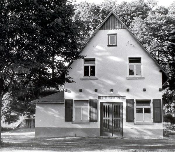 Sportlerheim Einsiedel 1. Ausbaustufe
