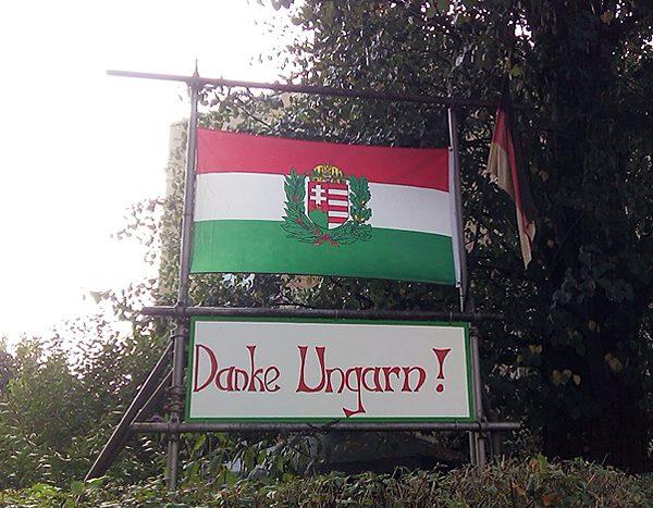 Danke Ungarn zum Tag der Sachsen 2016