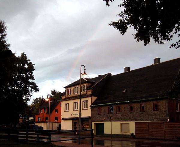 Hauptstraße 91 und 91 a Kirmesabend 19.09.2015