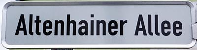 Altenhainer Allee