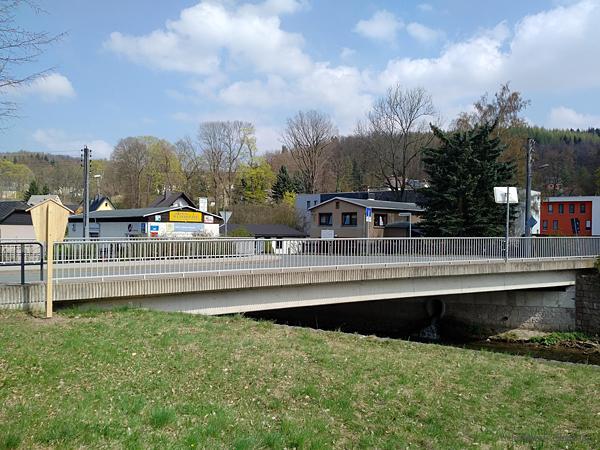 Oberförsterbrücke Einsiedel am 9. April 2017