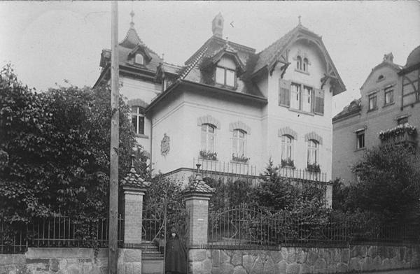 Villa in der Anton-Herrmann-Straße 3 in Einsiedel um 1912