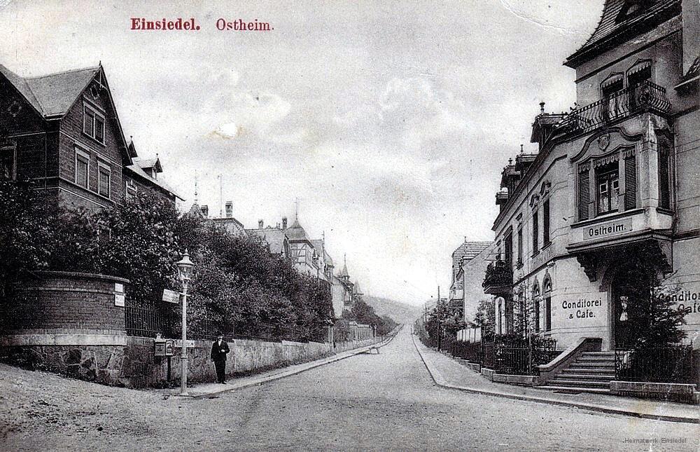 Einsiedel, Ostheim, 1909