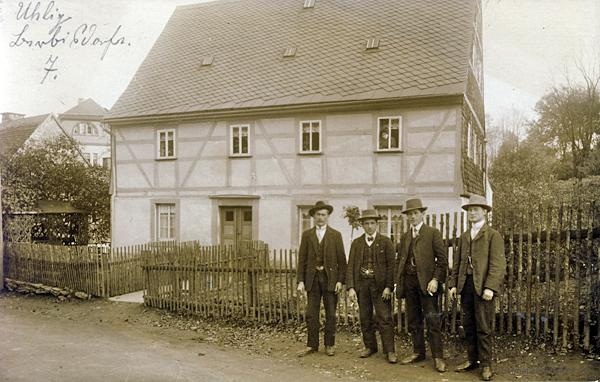 Berbisdorfer Straße 7 mit italienischen Gastarbeitern