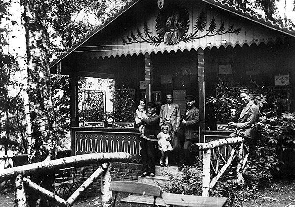 Klause des Erzgebirgszweigverein Einsiedel um 1930