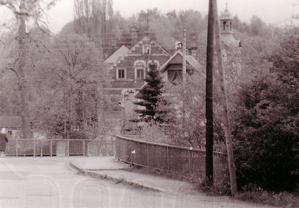 Doktorbrücke Einsiedel 1986