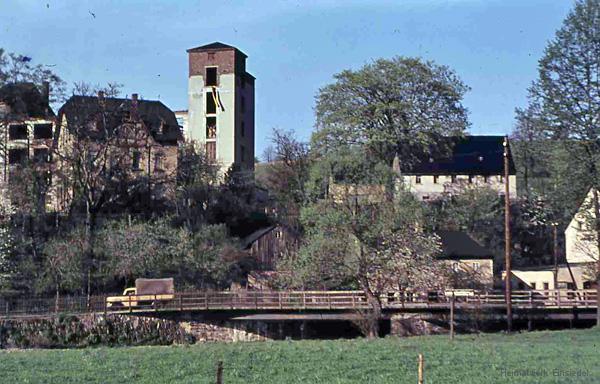 Doktorbrücke Einsiedel in den 1950er Jahren