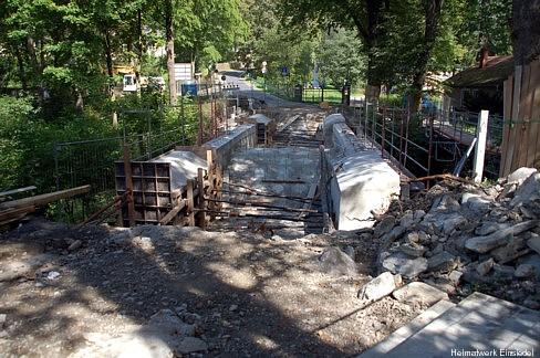 Sanierung Brücke 2009