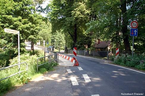 Beschränkungen auf der Kaskadenbrücke 2008
