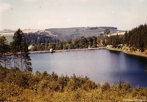 Talsperre Einsiedel August 1959