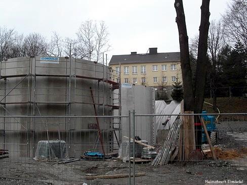 Schlammabscheiter im Bau 2005