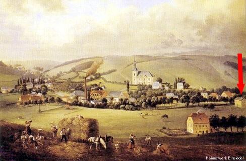 Gemälde von Leuteritz um 1875