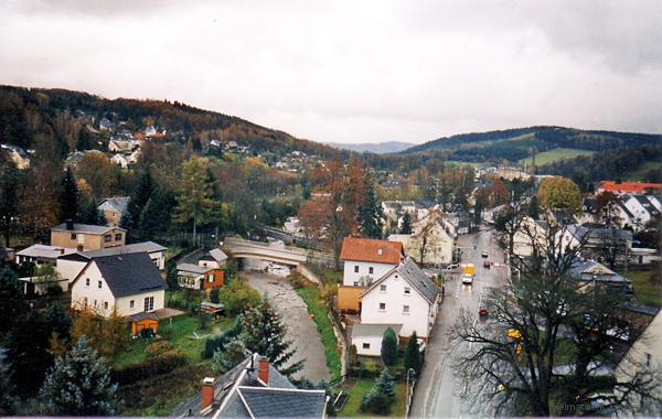 Oberförsterbrücke Einsiedel Herbst 2004