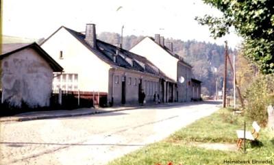 Bahnhof Einsiedel um 1960