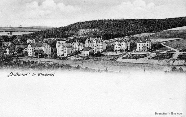 Postkarte Einsiedel Ostheim