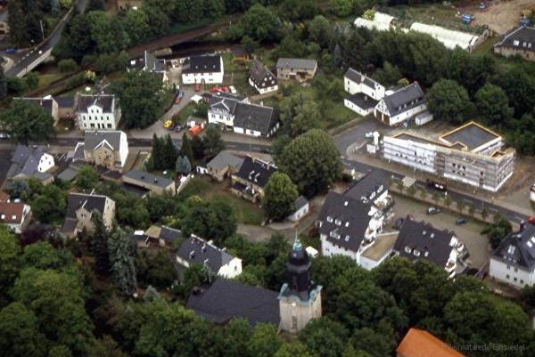Einsiedel Luftbild Am Plan 2000
