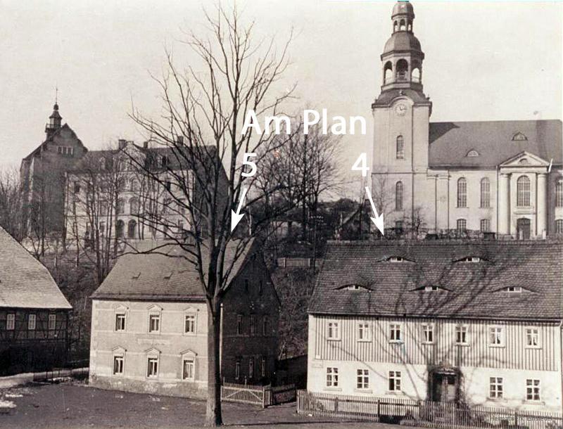 Wohngebäude Am Plan 4 & 5 in dem 1930er Jahren