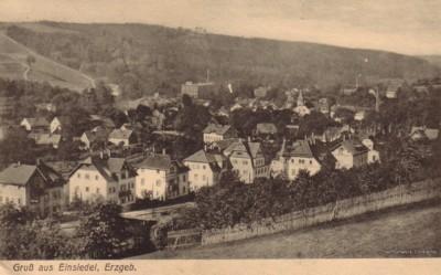 Postkarte postalisch gelaufen am 29.05.1927