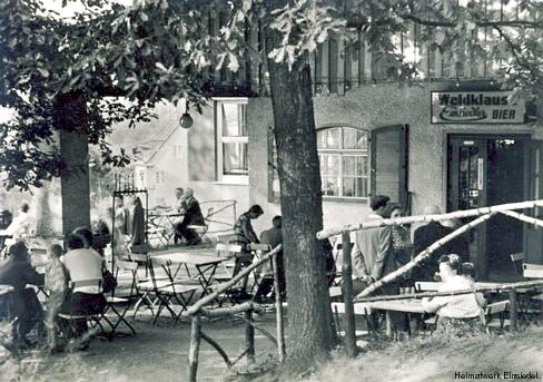 Biergarten 1962