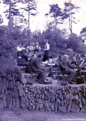 Konzert an der Waldklause Einsiedel