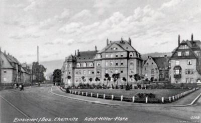 Adolf-Hitler-Platz Einsiedel