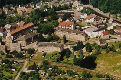 Luftbildaufnahme Einsiedel Mitte der 1990er Jahre.