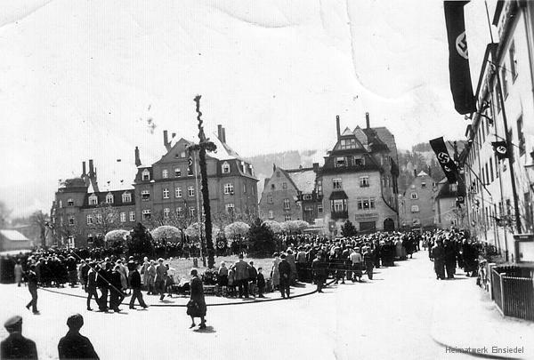 Adolf-Hitler-Platz Einsiedel mit Kreml