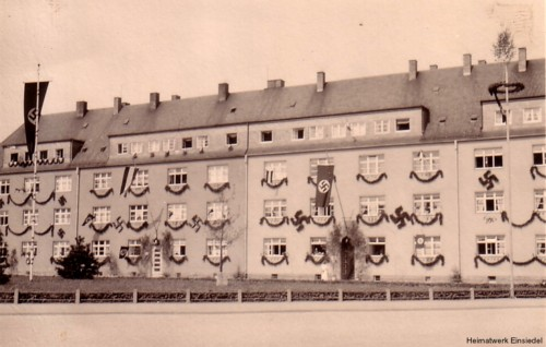 Adolf-Hitler-Eiche in Einsiedel 1934