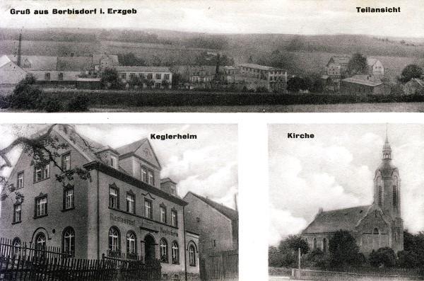 3er Ansicht Berbisdorf 1927