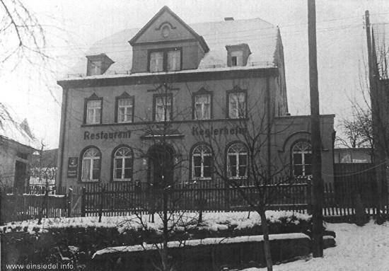 Keglerheim Berbisdorf 1930er Jahre