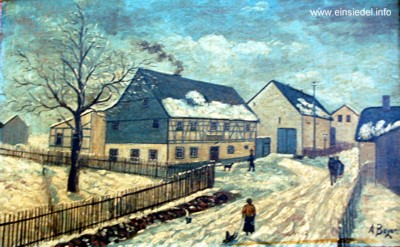 Gemälde Materialwaren Benedix Berbisdorf