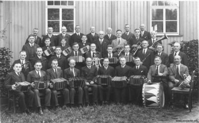 Concertina-Verein Einsiedel 1940