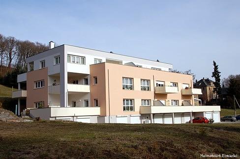 Eigentumswohnungen an der Berbisdorfer Straße in der ehem. Strumpffabrik Lohs