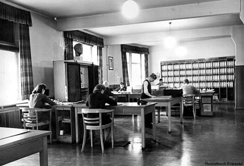 Buchhaltung der Fa. Lohs in den 1930er Jahren