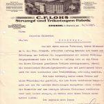 Rechnung aus dem Jahre 1927