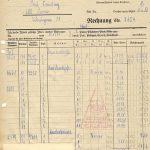 Rechnung vom 30.12.1944