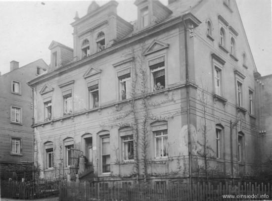Berbisdorfer Str. 38 um 1915